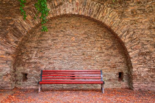 Free Stock Photo of Old World Bench - HDR