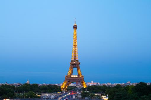 Free Stock Photo of  Eiffel Tower