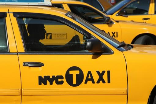 Free Stock Photo of NYC Taxi