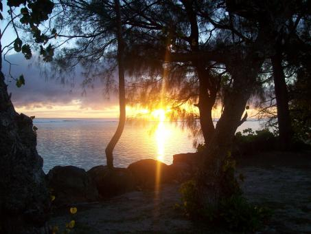 Free Stock Photo of Sunset on Rarotonga 2
