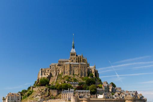 Free Stock Photo of Mont Saint-Michel