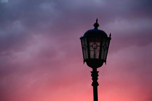 Free Stock Photo of lamppost
