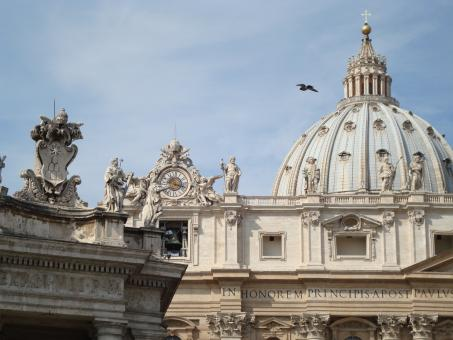 Free Stock Photo of St. Peters Basilica, Rome