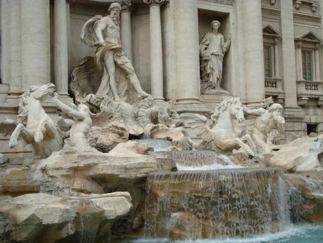 Free Stock Photo of Trevi Fountain
