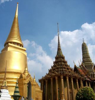 Free Stock Photo of Bangkok Wat Phra Kaew