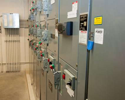 Free Stock Photo of Electrical Panel