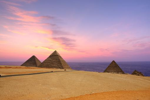 Free Stock Photo of Pyramids