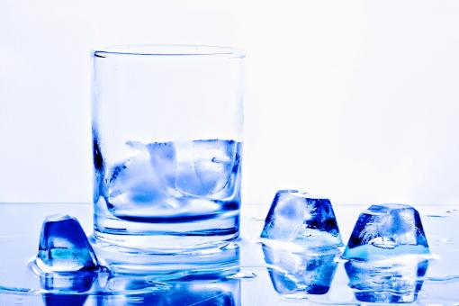 Free Stock Photo of Ice and Glass