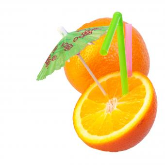Free Stock Photo of Orange cocktail