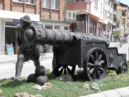 Free Stock Photo of Monument of Turkish artillery