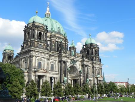 Free Stock Photo of Church in Berlin