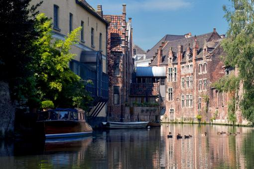 Free Stock Photo of Brugge Buildings