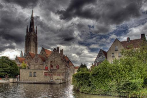 Free Stock Photo of Brugge Architecture