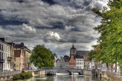 Free Stock Photo of Brugge Landscape