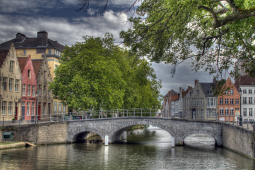 Free Stock Photo of Brugge