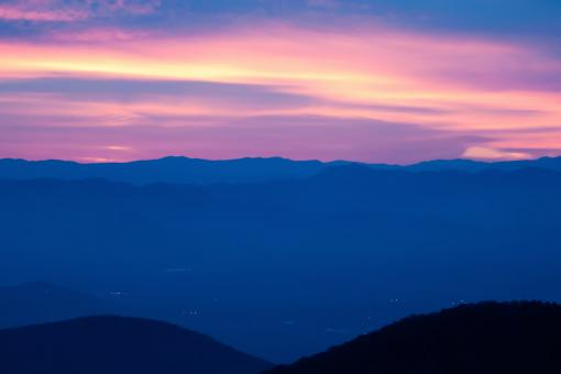 Free Stock Photo of Smoky Mountain Panorama