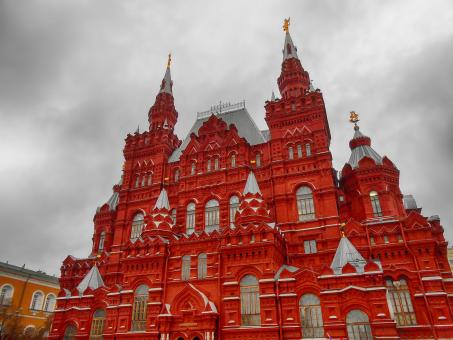 Free Stock Photo of Red Square in Moscow