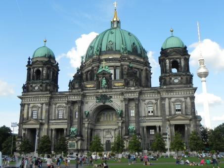 Free Stock Photo of Berlin Church
