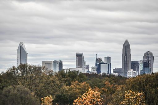 Free Stock Photo of Charlotte skyline