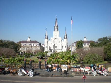 Free Stock Photo of Jackson Square, New Orleans