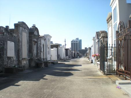 Free Stock Photo of New Orleans Cemetery
