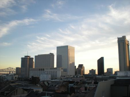 Free Stock Photo of New Orleans Skyline