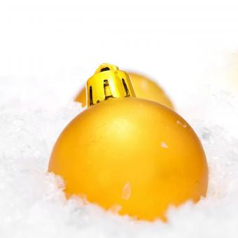 Free Stock Photo of Christmas ball