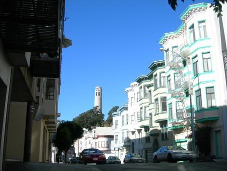 Free Stock Photo of Telegraph Hill