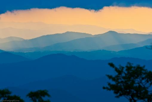 Free Stock Photo of Blue ridge parkway