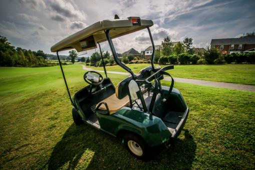 Free Stock Photo of Golf Cart