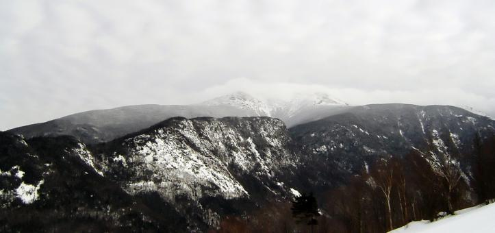 Free Stock Photo of Cannon mountain in winter