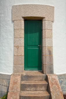 Free Stock Photo of Quiberon Lighthouse Door - HDR