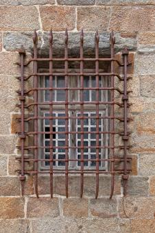 Free Stock Photo of Old Window Grid - HDR