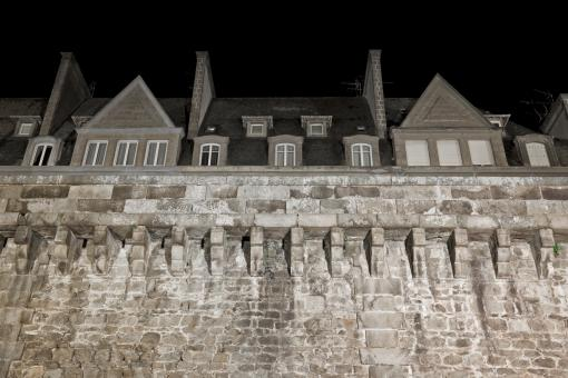 Free Stock Photo of Saint-Malo Historic Walls