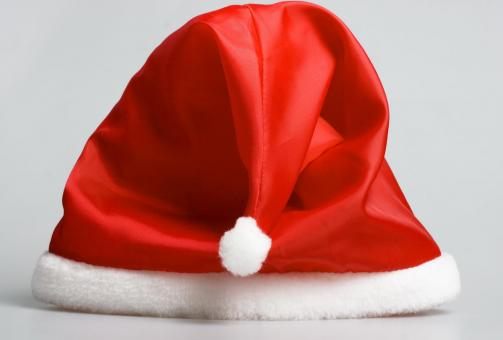 Free Stock Photo of Santa claus red hat