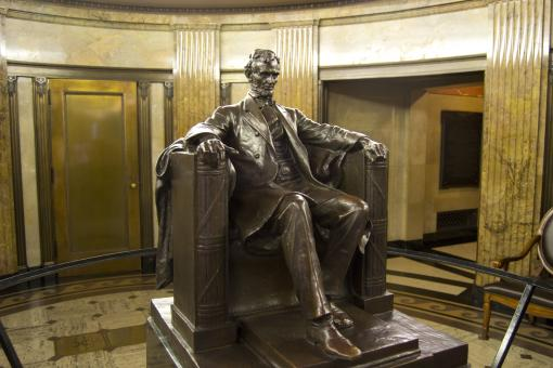 Free Stock Photo of Abraham Lincoln Statue