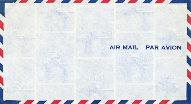 Free Stock Photo of Air Mail Envelope