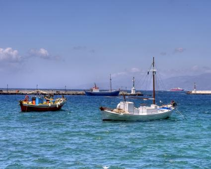 Free Stock Photo of Fishing Boats