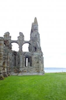 Free Stock Photo of Abbey Ruins