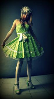 Free Stock Photo of Dress in peas