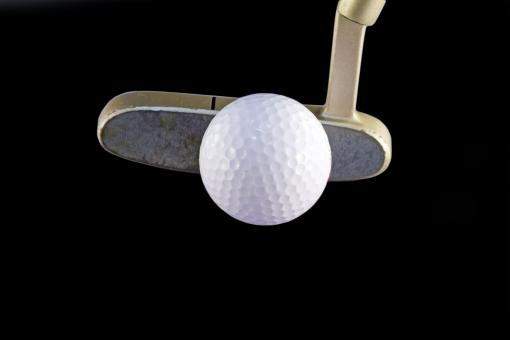 Free Stock Photo of Golf Club and Ball