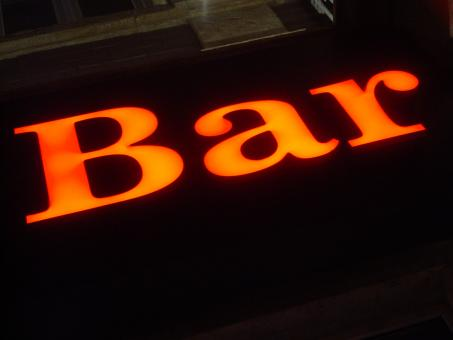 Free Stock Photo of Bar sign