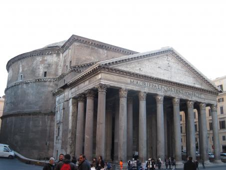 Free Stock Photo of The Pantheon in Rome, Italy