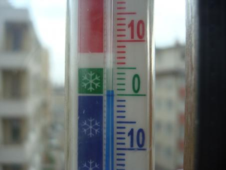 Free Stock Photo of Thermometer in the winter
