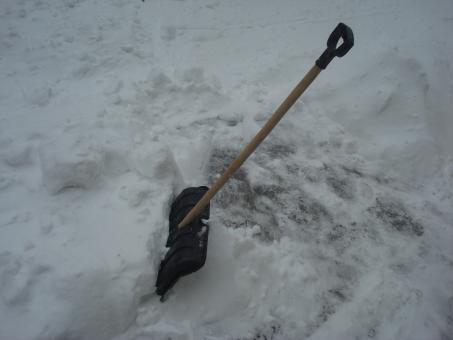 Free Stock Photo of Snow shovel