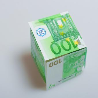 Free Stock Photo of Euro banknotes