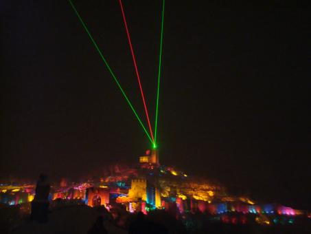 Free Stock Photo of Sound and Lights Show in Tzarevetz, Veli