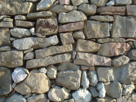 Free Stock Photo of Stone wall patterns