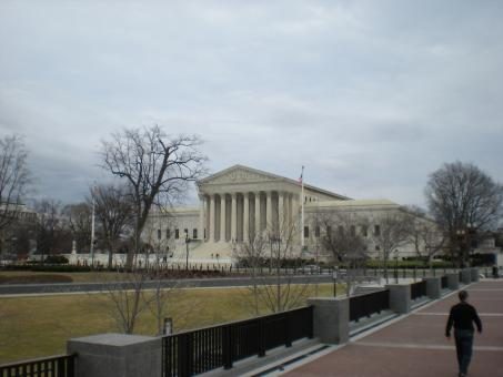 Free Stock Photo of United States Supreme Court