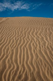 Free Stock Photo of Desert sand ripples